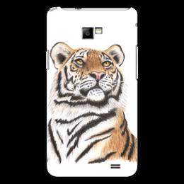 """Чехол для Samsung Galaxy S2 """"Взгляд тигра"""" - хищник, животные, взгляд, тигр, зверь"""