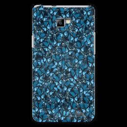 """Чехол для Samsung Galaxy S2 """"Papilionidae"""" - бабочки, природа, текстура, фон"""