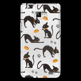 """Чехол для Samsung Galaxy S2 """"Чёрные кошки"""" - кот, кошка, животные, коты, котёнок"""