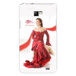 "Чехол для Samsung Galaxy S2 ""Tarja Turunen - Breath From Heaven - 10 лет"" - tarja turunen, tarja, тарья, тарья турунен, turunen"