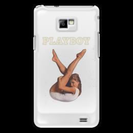 "Чехол для Samsung Galaxy S2 ""Playboy Девушка"" - девушка, playboy, плейбой, плэйбой"