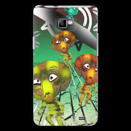 """Чехол для Samsung Galaxy S2 """"Инопланитяне"""" - инопланетяне, нло, марсиане, лунатики, летающая тарелка"""