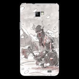 "Чехол для Samsung Galaxy S2 ""Викинг. После боя."" - свобода, история, викинги, vikings, путь воина"