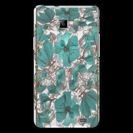 """Чехол для Samsung Galaxy S2 """"Цветочный орнамент"""" - цветы, стиль, девушке"""