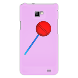 """Чехол для Samsung Galaxy S2 """"Сладкая жизнь"""" - рисунок, сладости, конфета, леденец, карамель"""
