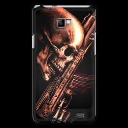 "Чехол для Samsung Galaxy S2 ""ДО КОНЦА!!!"" - skull, череп, weapon, ак, характер"