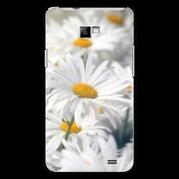 """Чехол для Samsung Galaxy S2 """"Ромашки"""" - цветы, цветок, белый, ромашка, желтый"""