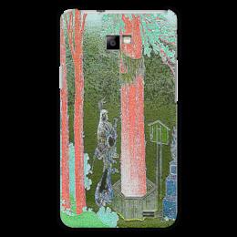"""Чехол для Samsung Galaxy S2 """"Пейзажи Японии."""" - стиль, гравюры, японские"""