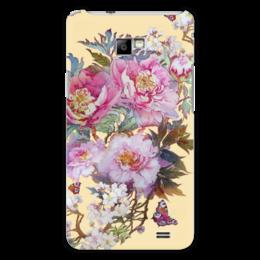 """Чехол для Samsung Galaxy S2 """"Цветочная фантазия."""" - бабочки, цветы, весна, акварель, живопись"""