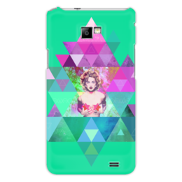 "Чехол для Samsung Galaxy S2 """"HIPSTA SWAG"" collection: Madonna"" - swag, madonna, мадонна, свэг, геомерия"