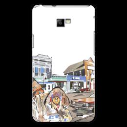 """Чехол для Samsung Galaxy S2 """"Индейцы. Путешествие по США"""" - авто, сша, автомобили, путешествия, машины, индейцы"""