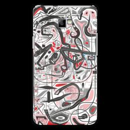 "Чехол для Samsung Galaxy S2 ""Mamewax"" - арт, узор, абстракция, фигуры, медитация"