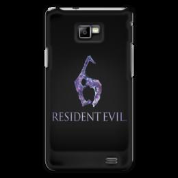 """Чехол для Samsung Galaxy S2 """"Resident Evil 6"""" - игра, обитель зла, resident evil, umbrella, re"""