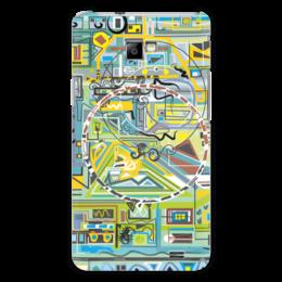 "Чехол для Samsung Galaxy S2 ""Березка"" - арт, абстракция, фигуры, бирюзовый"