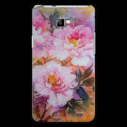 """Чехол для Samsung Galaxy S2 """"Древесные пионы."""" - арт, цветы, art, весна, в подарок, flowers, пионы, букет, peony, цветочная живопись"""