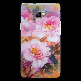 """Чехол для Samsung Galaxy S2 """"Древесные пионы."""" - цветы, flowers, пионы, букет, цветочная живопись"""