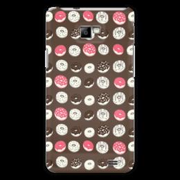 """Чехол для Samsung Galaxy S2 """"Пончики"""" - еда, пончики, шоколад"""