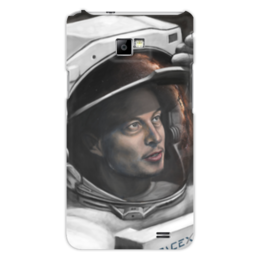 "Чехол для Samsung Galaxy S2 ""SpaceX"" - космос, вселенная, thespaceway, spacex, маск"