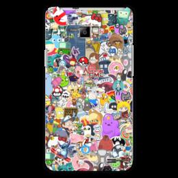 "Чехол для Samsung Galaxy S2 ""STICKERS"" - арт, дизайн, аниме, мульт, фэн-арт"