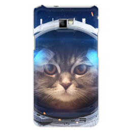 """Чехол для Samsung Galaxy S2 """"Котосмонавт"""" - кот, космос, животное, костюм"""