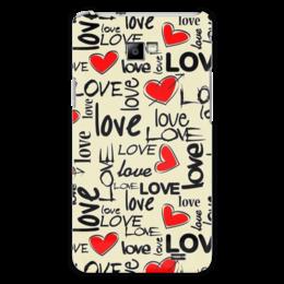"""Чехол для Samsung Galaxy S2 """"Любовь"""" - сердце, любовь"""