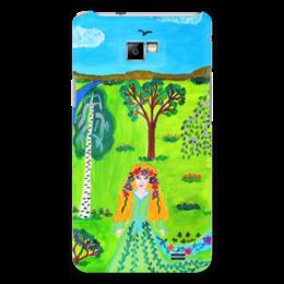 """Чехол для Samsung Galaxy S2 """"Мир волшебства"""" - ручная работа, детский рисунок, от детей, детская работа"""