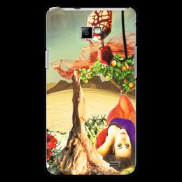 """Чехол для Samsung Galaxy S2 """"Нега."""" - девушка, пустыня, апельсины, нега, расслабленние"""