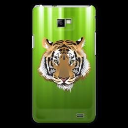 "Чехол для Samsung Galaxy S2 ""Взгляд тигра"" - рисунок, взгляд, тигр, джунгли"