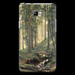 """Чехол для Samsung Galaxy S2 """"Ручей в лесу"""" - картина, шишкин"""
