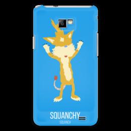 """Чехол для Samsung Galaxy S2 """"Сковнчи"""" - рик и морти, сквонча, сквончить"""