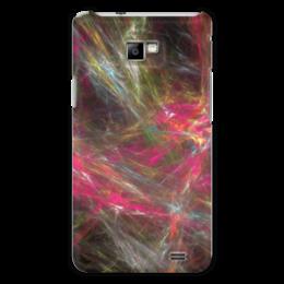 """Чехол для Samsung Galaxy S2 """"Абстрактный дизайн"""" - графика, абстракция, линии, авангард, лучи"""