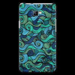 """Чехол для Samsung Galaxy S2 """"Волнистый"""" - арт, узор, волна, орнамент, абстракция"""