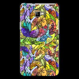 """Чехол для Samsung Galaxy S2 """"Абстракция"""" - яркий, абстрактный, летний, многоцветный"""