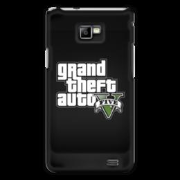 """Чехол для Samsung Galaxy S2 """"GTA 5"""" - игры, фанат, геймер, гта, про игры"""