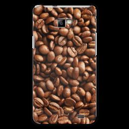 """Чехол для Samsung Galaxy S2 """"Кофейные зерна"""" - кофе"""