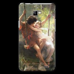 """Чехол для Samsung Galaxy S2 """"Весна (Пьер Огюст Кот)"""" - кот, картина"""