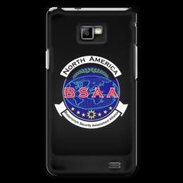 "Чехол для Samsung Galaxy S2 ""Resident Evil. BSAA"" - resident evil, umbrella, re, bsaa"