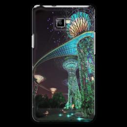 "Чехол для Samsung Galaxy S2 ""Сады будущего"" - future, фэнтэзи, marina bay garden, сады будущего"