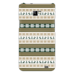 "Чехол для Samsung Galaxy S2 ""Скандинавский узор"" - узор, зима, орнамент, олень, снежинка"
