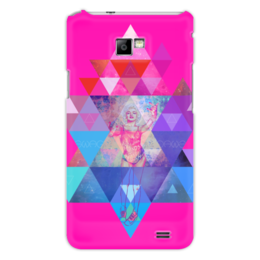 "Чехол для Samsung Galaxy S2 """"HIPSTA SWAG"" collection: Marilyn Monroe"" - swag, свэг, мэрилин монро, marilyn monroe"