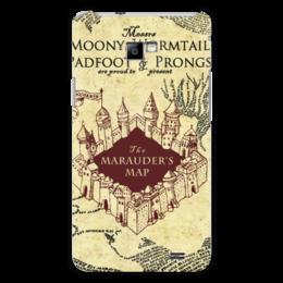 """Чехол для Samsung Galaxy S2 """"Карта мародеров"""" - harry potter, гарри поттер, карта мародеров"""