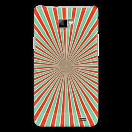 """Чехол для Samsung Galaxy S2 """"Полосатый"""" - арт, узор, стиль, абстаркция, орамент"""
