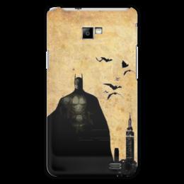 """Чехол для Samsung Galaxy S2 """"Batman"""" - комиксы, batman, бэтмен, dc, бэтмен против супермена"""