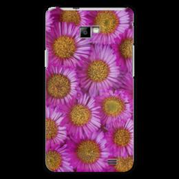"Чехол для Samsung Galaxy S2 ""Астры"" - цветы, желтый, розовый, лепесток, астры"