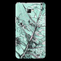 "Чехол для Samsung Galaxy S2 ""Весенняя осень"" - лист, рисунок, фактура"