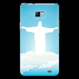 """Чехол для Samsung Galaxy S2 """"Иисус Христос"""" - вера, религия, иисус, бог, божество"""