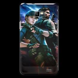 """Чехол для Samsung Galaxy S2 """"Resident Evil"""" - игра, обитель зла, resident evil, umbrella, re"""