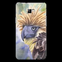 """Чехол для Samsung Galaxy S2 """"Филиппинский орел """" - животные, птица, орел, иллюстрация, перья"""