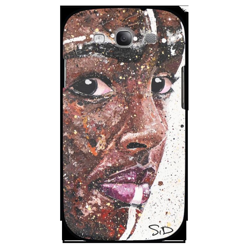 Чехол для Samsung Galaxy S3 Printio Эфиопка серова м вся прелесть стриптиза