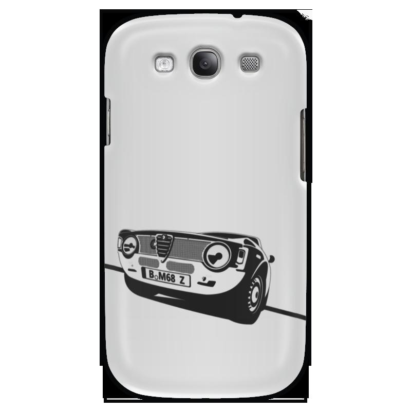 Чехол для Samsung Galaxy S3 Printio Retro alfa romeo racing наклейки tony 2 74 alfa romeo mito 147 156 159 166 giulietta gt